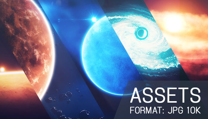 Assets: Space Wallpapers in 10k