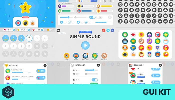 GUI Kit – Simple Round