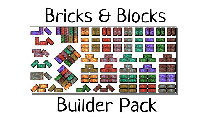 Bricks & Walls Construction Pack