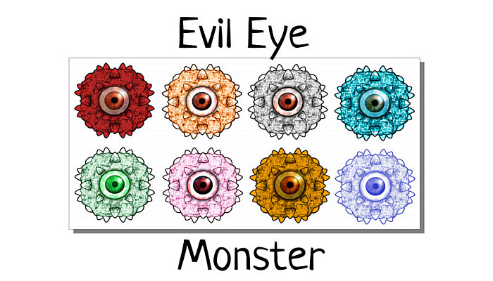 Evil Eye Monster