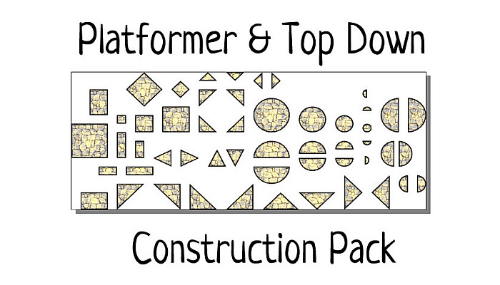 Platformer & Top Down Construction Pack