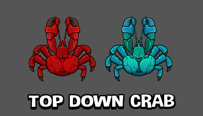 Top down crab