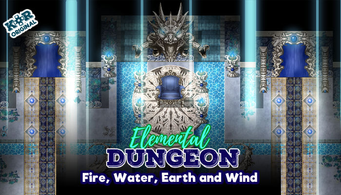Elemental Dungeon (Fire, Water, Wind and Earth)