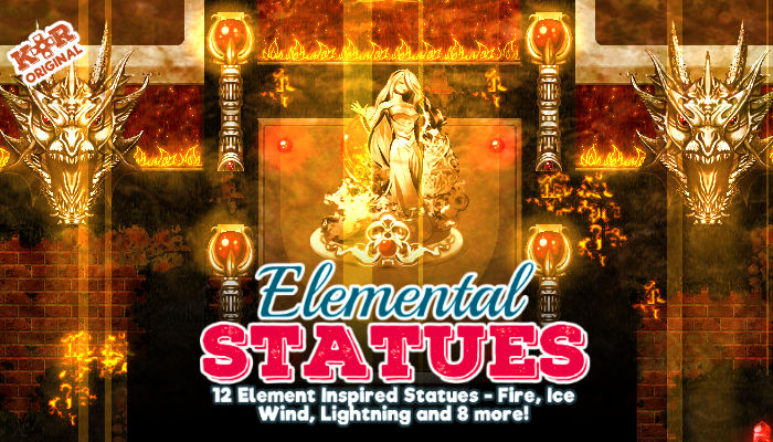 Elemental Dungeon – Elemental Statues