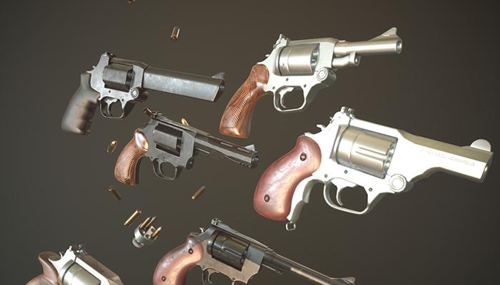 Pistols | Revolver parts Pack