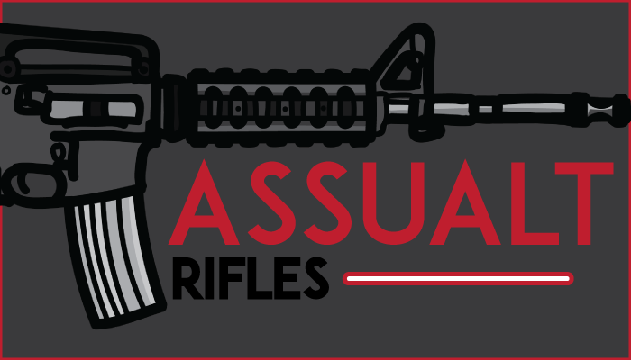2D Weapons Pack (Assault Rifles)