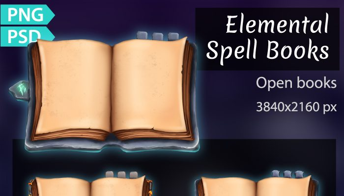 Spell Books Open