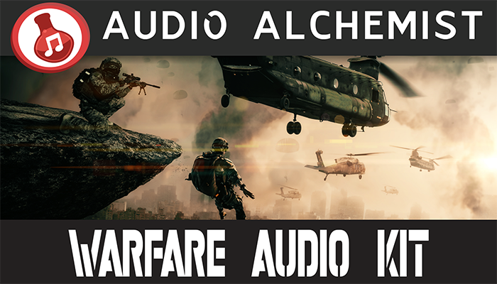 Warfare Audio Kit