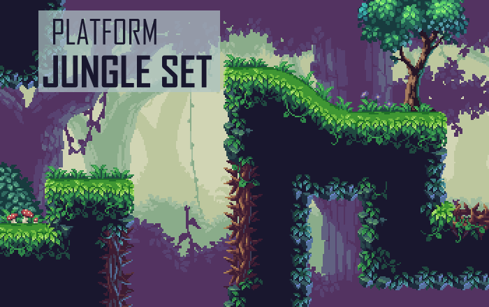 Platform Jungle Set