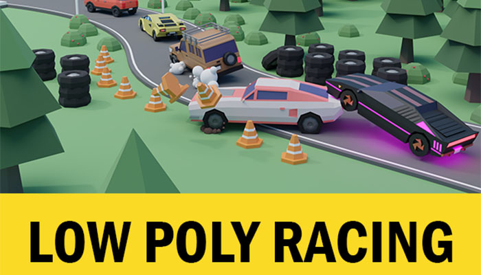 Low Poly Racing Pack