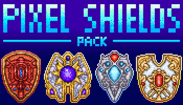Pixel Shields Pack