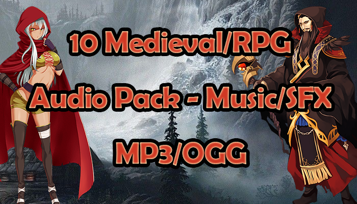 Complete Pack Medieval/RPG – 10 Music and SFX for Mobile Game – Exclusive
