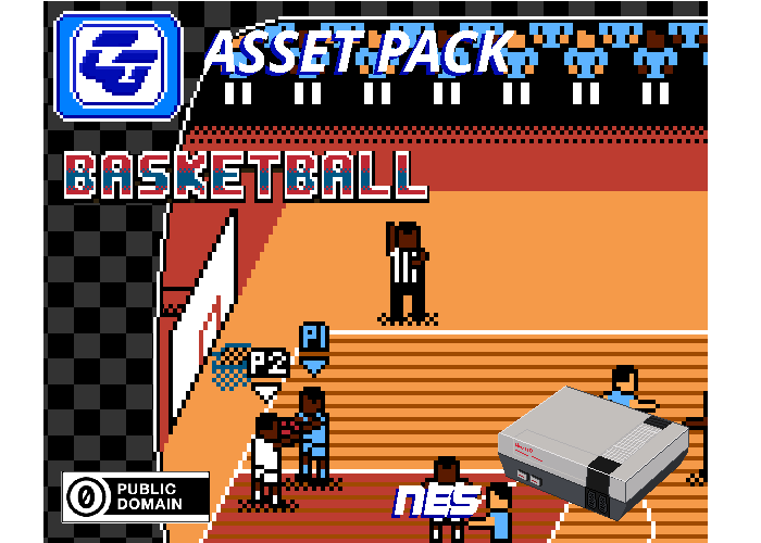 Asset Pack 'Basketball' NES