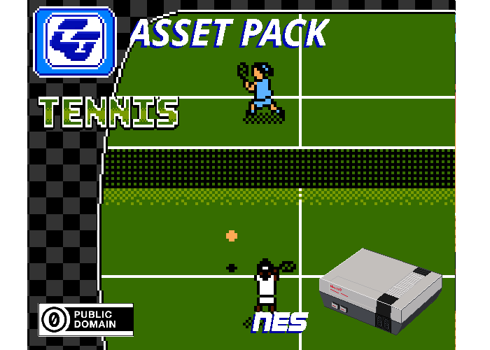 Asset Pack 'Tennis' NES