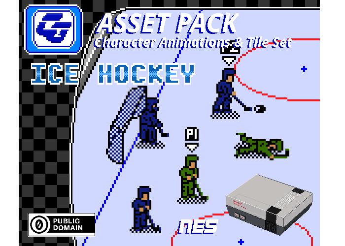 Asset Pack 'Ice Hockey' NES