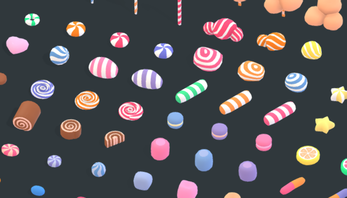 Candy Land – Animation Asset