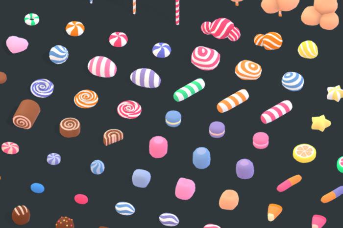 Candy Land – Animation Asset