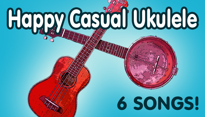 Happy Casual Ukulele Music Pack 1