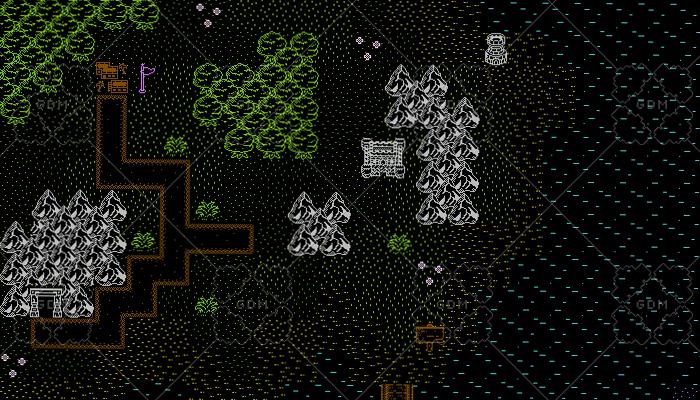 Retro RPG Overworld Tileset