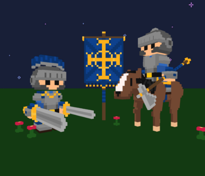 VOXEL KNIGHTS KEEP