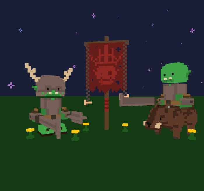 VOXEL ORC BURROWS