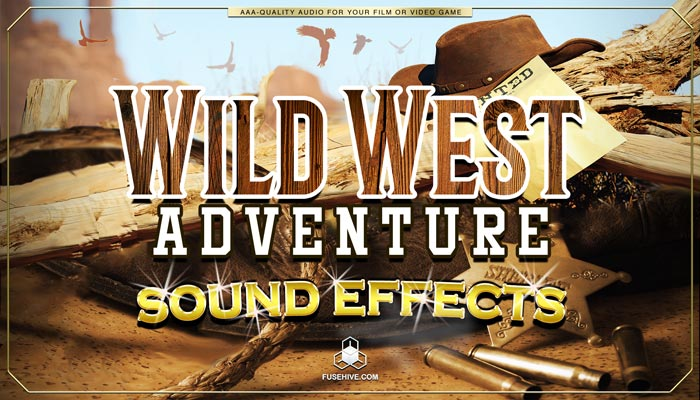 Wild West Country Sound Effects Library – Western Cowboy Ranch Farm Royalty Free AAA SFX Audio Pack