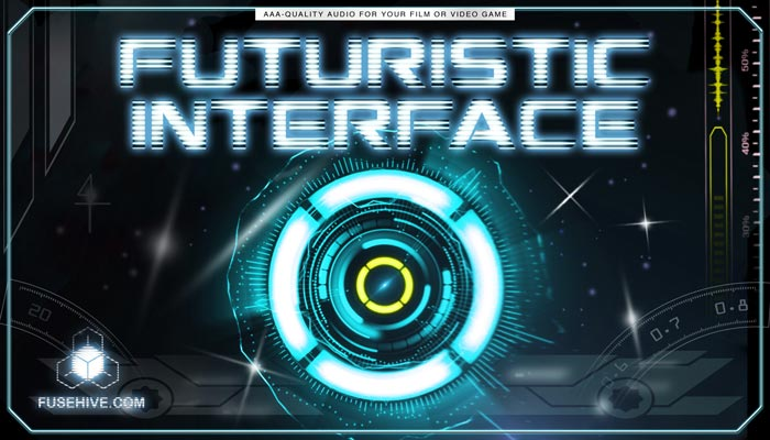 Futuristic Sci-Fi User Interface Sound Effects Library – High Tech Computer UI Display SFX Download