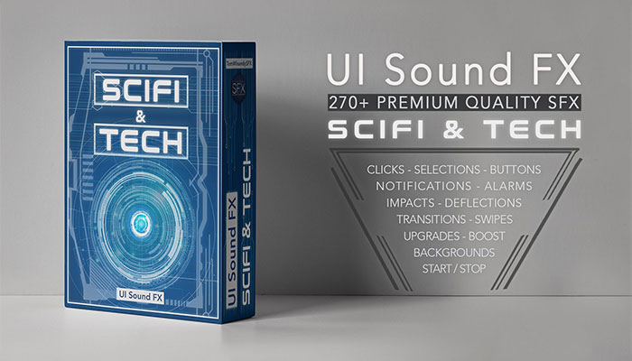 User Interface Sound FX – Scifi & Tech