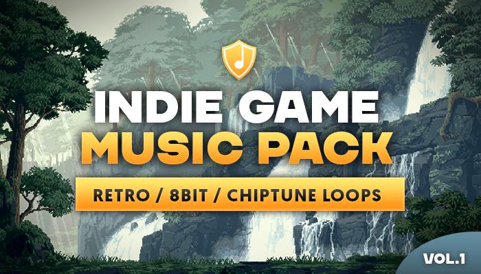 Indie Game Music Pack vol. 1 – Retro/8bit/Chiptune loops
