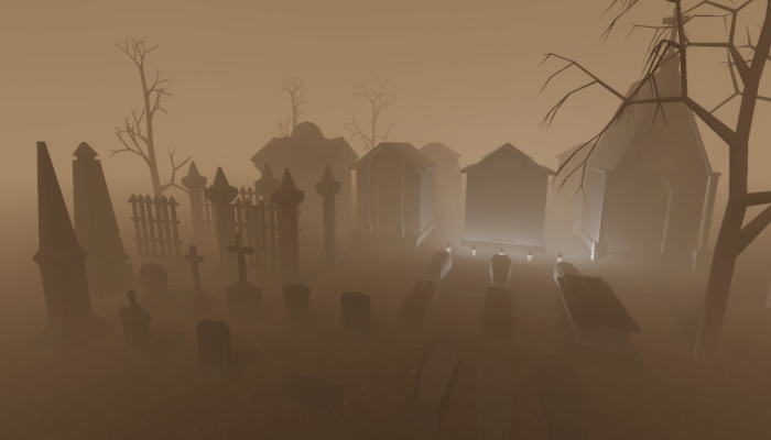 Low Poly Graveyard Pack