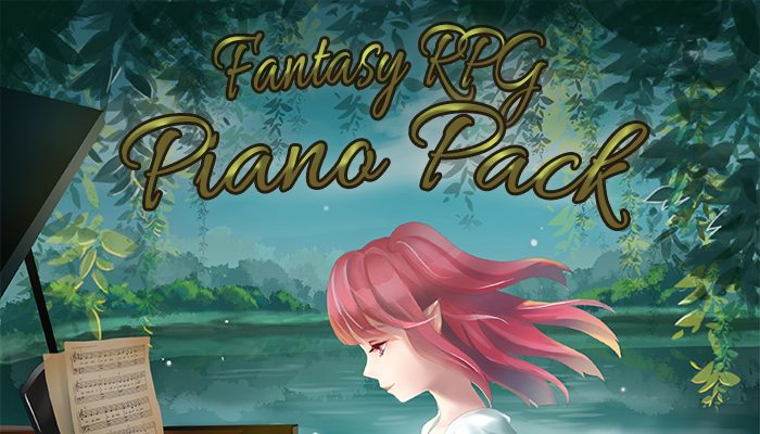 Fantasy RPG Piano Pack