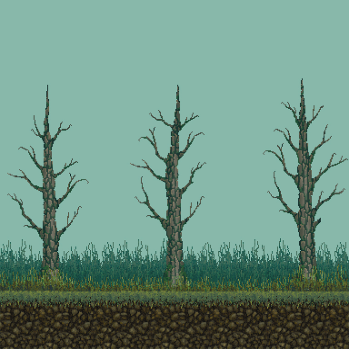 64×64 PIXEL FOREST PACK