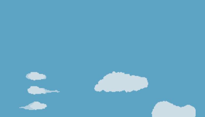 clouds pixel pack