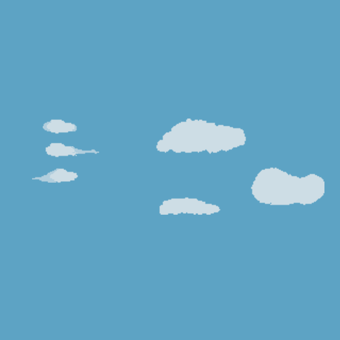 clouds pixel pack