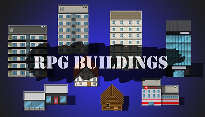 RPG maker-buildings