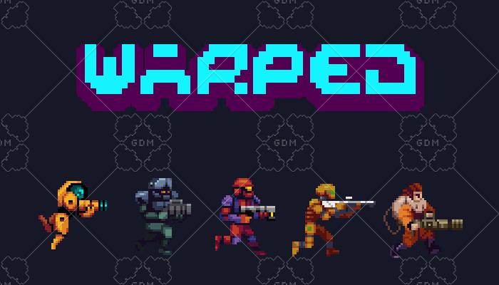 Warped Humanoid Enemies