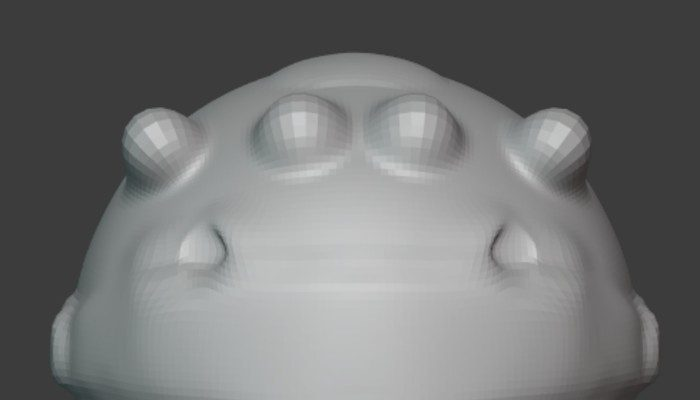 Basic Alien Head Mold