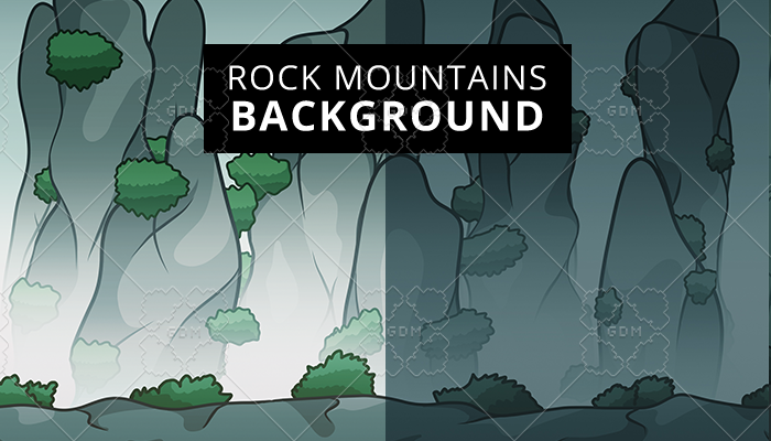 Rock Mountain Background