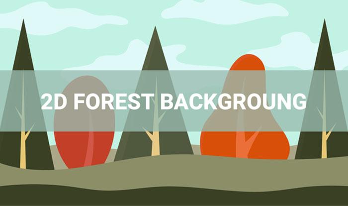 Backround Forest 2D