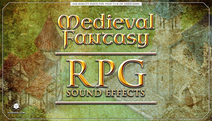 Medieval Fantasy RPG Sound Effects Library – Role Playing Game Royalty Free SFX Audio Pack Download