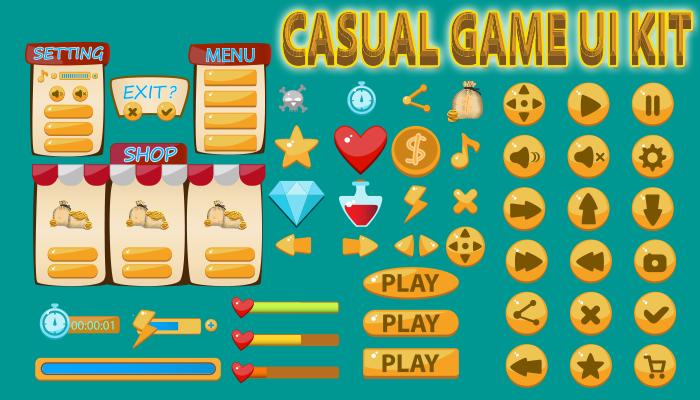 Casual GUI Kit