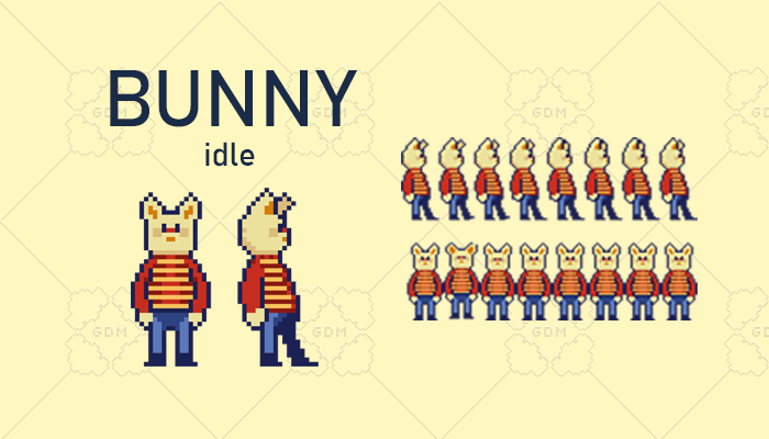 Animated Bunny (Idle)