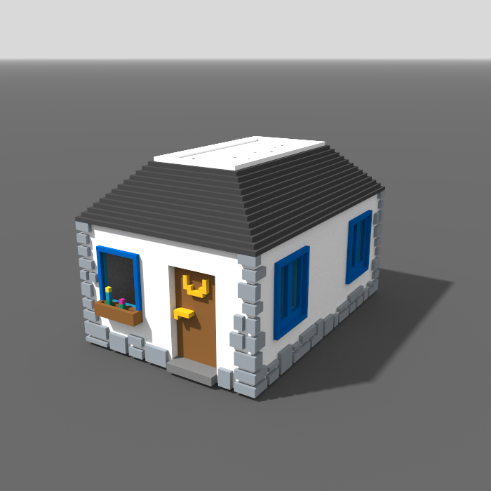 Voxel House – RPG