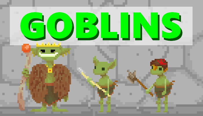 Goblins! || 2D Pixel Asset Pack