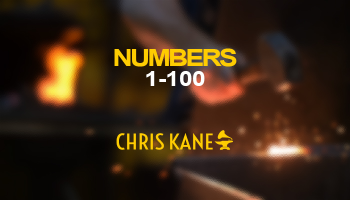 Numbers 1-100+