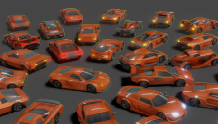 Lowpoly Super Car Mega Pack