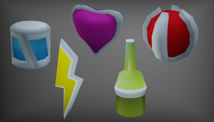 Low Poly Power Ups