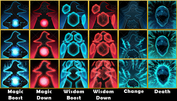 Fantasy Game Basic Magic Skill Icon – Support Magic