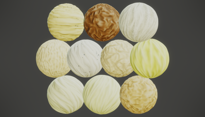 Stylized PBR Sand Textures