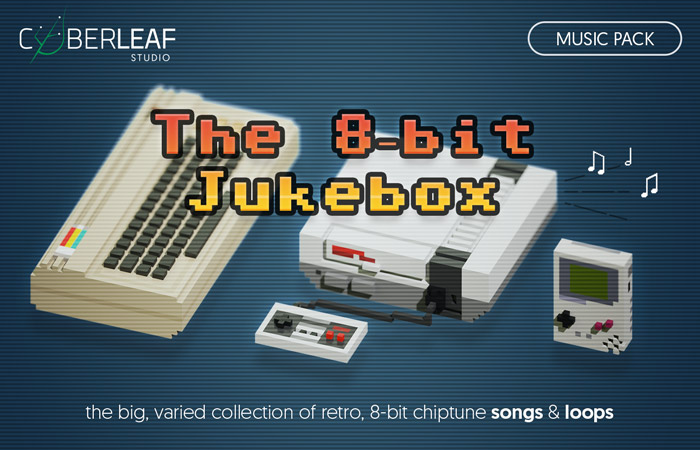 The 8-bit Jukebox – music pack